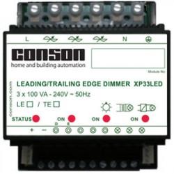 XP33LED - Variateur LED résistif 3 x 100 VA