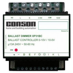 XP31BC - Commande de ballast 1-10V/10-1 et relais 13A