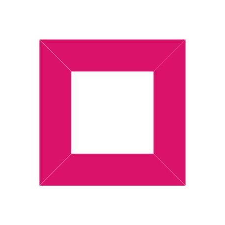 XP2552 - Raam 80 x 80 mm / kleur pink