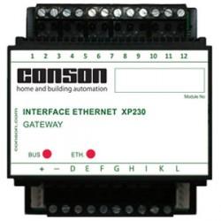 XP230 - Gateway Ethernet: Pour la programmation et gestion avec l'ordinateur + app smartphone/tablet gratuit
