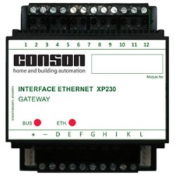 XP230 - Gateway Ethernet: Programmierung und Steuerung mit dem Computer + kostenlose App für Smartphone/Tablet