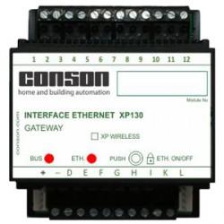 XP130 - Gateway Ethernet - voor de programmatie met PC via TCP en besturing