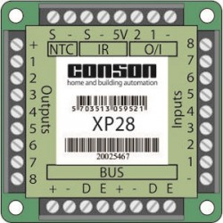 XP28 - Bus-interface druktoetsen