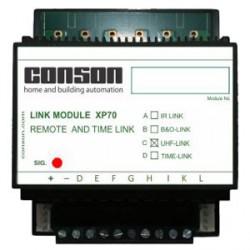 XP70C - Link-UHF 8 caunaux identique à CP70C mais bus quadripolaire
